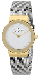 Skagen Freja White/Steel Ø27 mm 358SGSCD