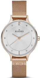 Skagen Anita Silver colored/Rose gold colored steel Ø30 mm SKW2151