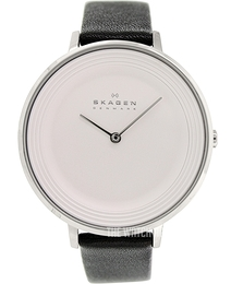 Skagen Ditte Silver colored/Leather Ø36.5 mm SKW2261