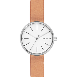 Skagen White/Leather Ø30 mm SKW2594
