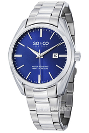 So & Co New York Madison Blue/Steel Ø42 mm 5101.3