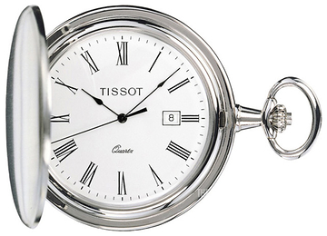 Tissot T-Pocket Savonnette Quartz White Ø47.5 mm T83.6.503.13