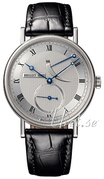 Breguet Classique Silver colored/Leather Ø38 mm 5277BB-12-9V6