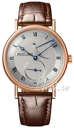 Breguet Classique Silver colored/Leather Ø38 mm 5277BR-12-9V6