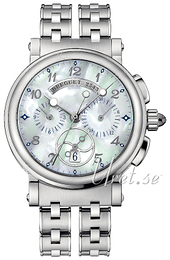 Breguet Marine Silver colored/Steel Ø34.6 mm 8827ST-5W-SM0