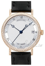 Breguet Classique Silver colored/Leather Ø33.5 mm 9068BR-12-976 D000