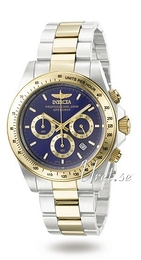 Invicta Speedway Blue/Yellow gold toned steel Ø39.5 mm 3644