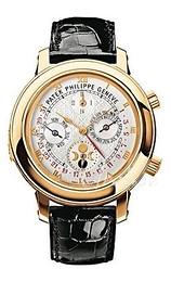 Patek Philippe Grand Complications Sky Moon Tourbillon White/Leather Ø42.8 mm 5002J/001