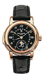 Patek Philippe Grand Complications Black/Leather Ø36.8 mm 5016R/011