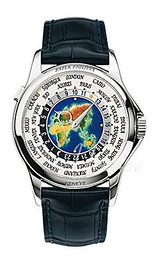 Patek Philippe Grand Complications Europe-Asia World Time Multi-colored/Leather Ø39.5 mm 5131G/001