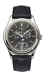 Patek Philippe Grand Complications Annual Calender Grey/Leather Ø39 mm 5146P/001