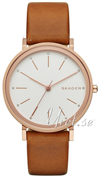 Skagen Hald White/Leather Ø34 mm SKW2488
