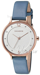 Skagen Anita White/Leather Ø30.5 mm SKW2497