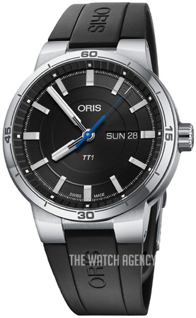 926e715ce Oris Motor Sport Black/Rubber Ø42 mm ref. 01 735 7752 4154-07 4 24 06FC