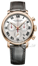 Chopard L.U.C 1963 Chronograph Silver colored/Leather Ø42 mm