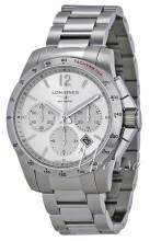 Longines Conquest Silver colored/Steel Ø41 mm